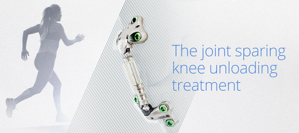 The joint sparing knee unloading treatment